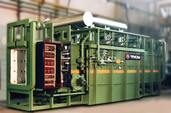 Teknoaustral - continuous straight way enameling  furnace