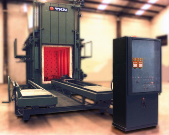 Teknoaustral - Batch furnace, with manual loader
